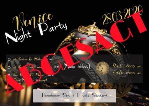 Venice Night Party