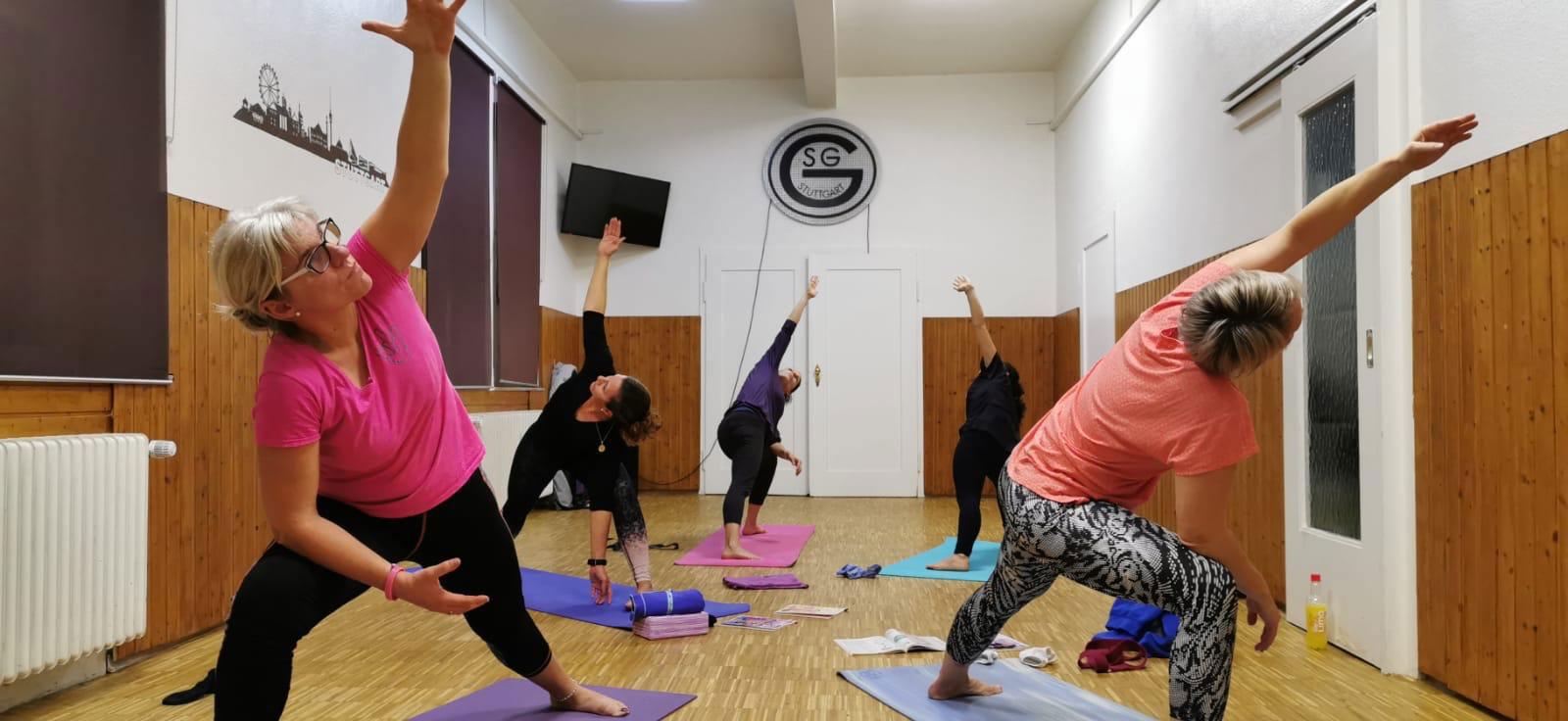 Yoga von September bis Dezember 2019